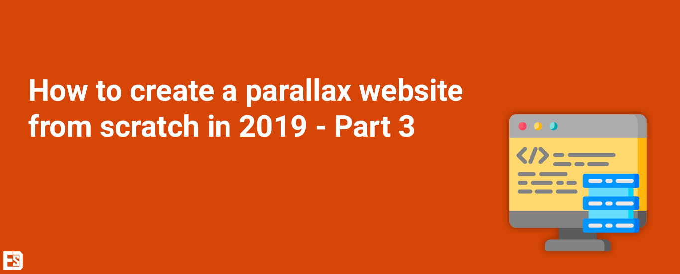 how to create a parallax website 2019
